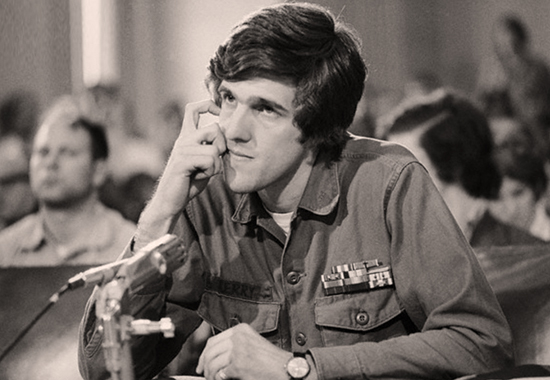 Is John Kerry pivoting off of John McCain's death?