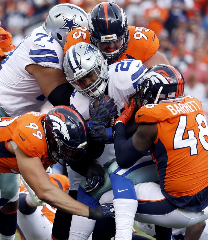 Bronco offense and play calling improved over 2017