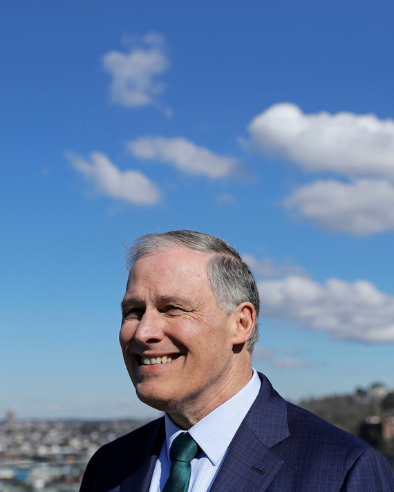 Jay Inslee polling at .5% among college students
