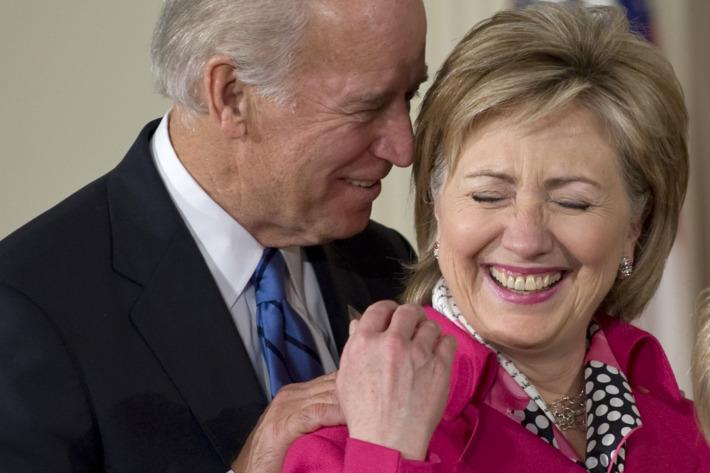 Joe Biden the Jussie Smollett of presidential candidates