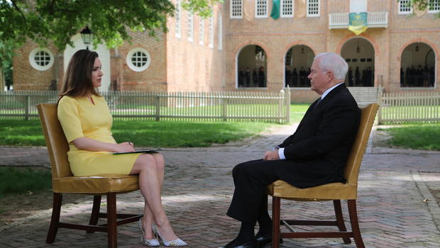 Margaret Brennan engages Robert Gates
