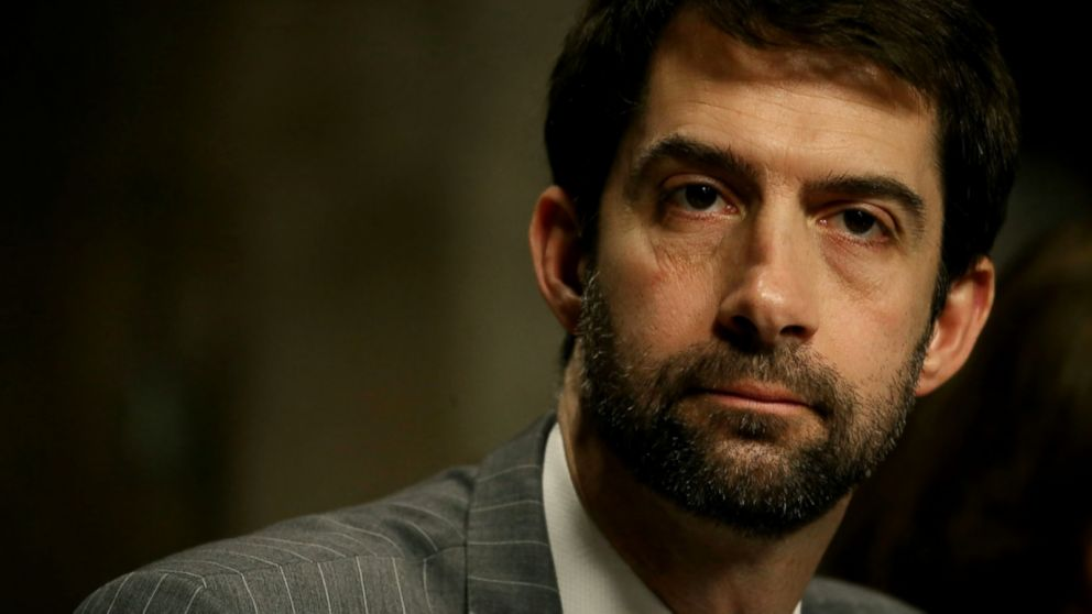 Senator Tom Cotton's unhinged foreign policy gibberish on Iran