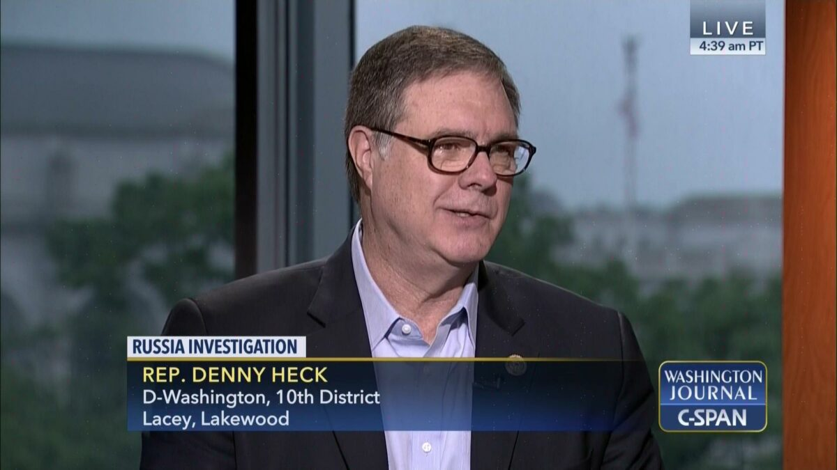 Denny Heck makes fatal political error in military dense 10th District