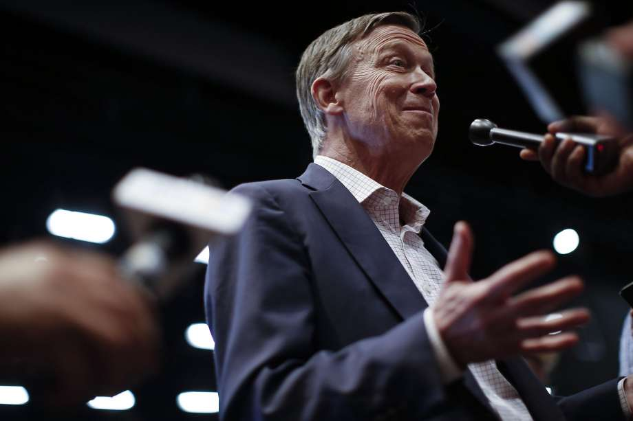 Hickenlooper's presidential bid shits the bed