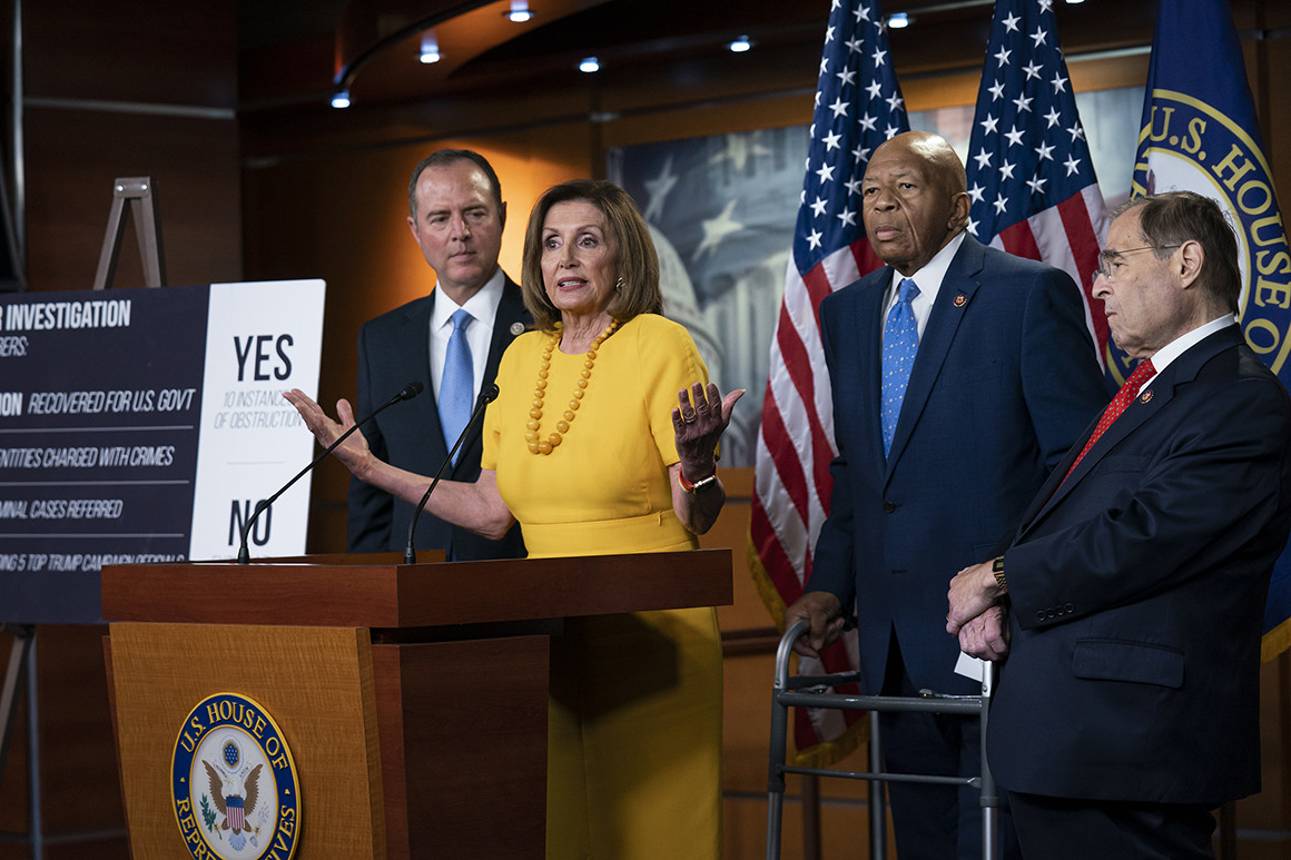 Pelosi propaganda is sinking the Democrats chances in 2020.