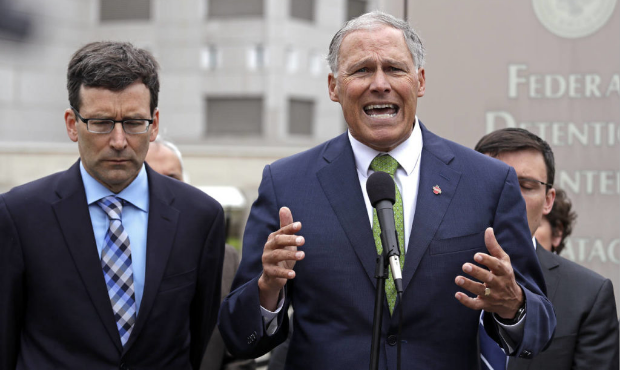 The political climate for Jay Inslee has changed