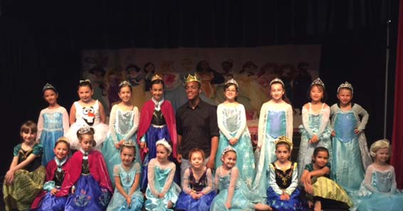 Disney Dreams at Landrum Showcase Theater Whitestone NY 2015