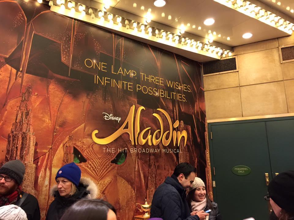 Landrum Goes to Aladdin 2016