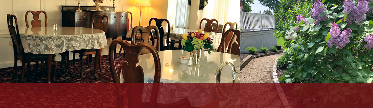 Private Nursing Home Dining Room