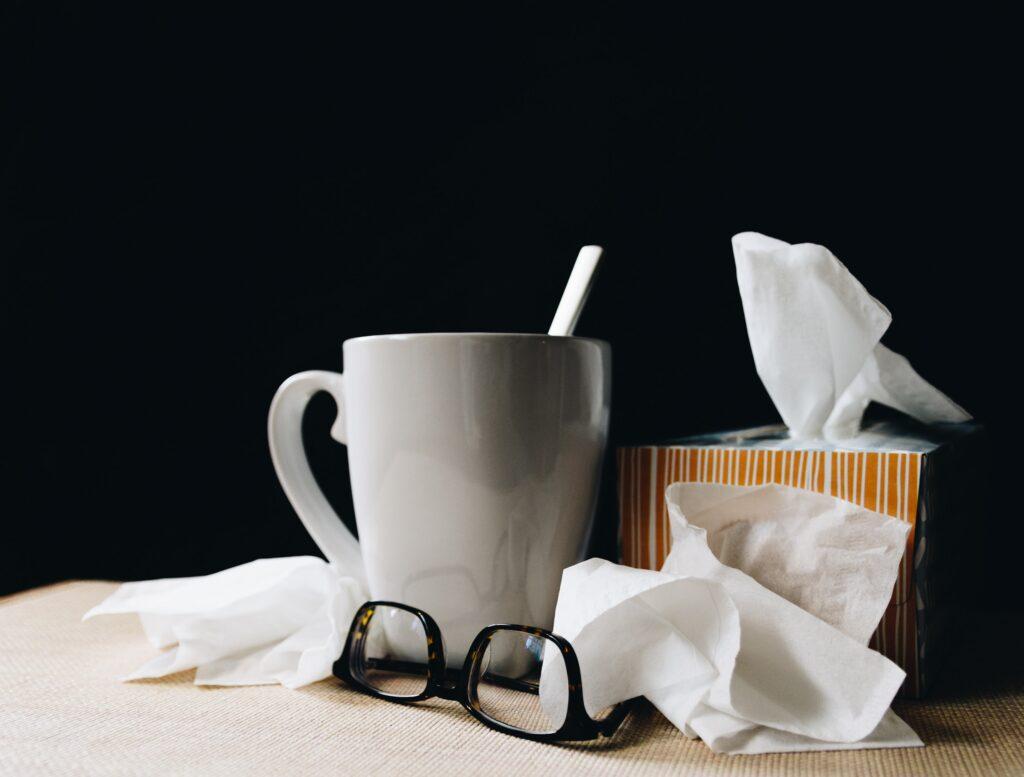 Flu Symptoms Stay Home