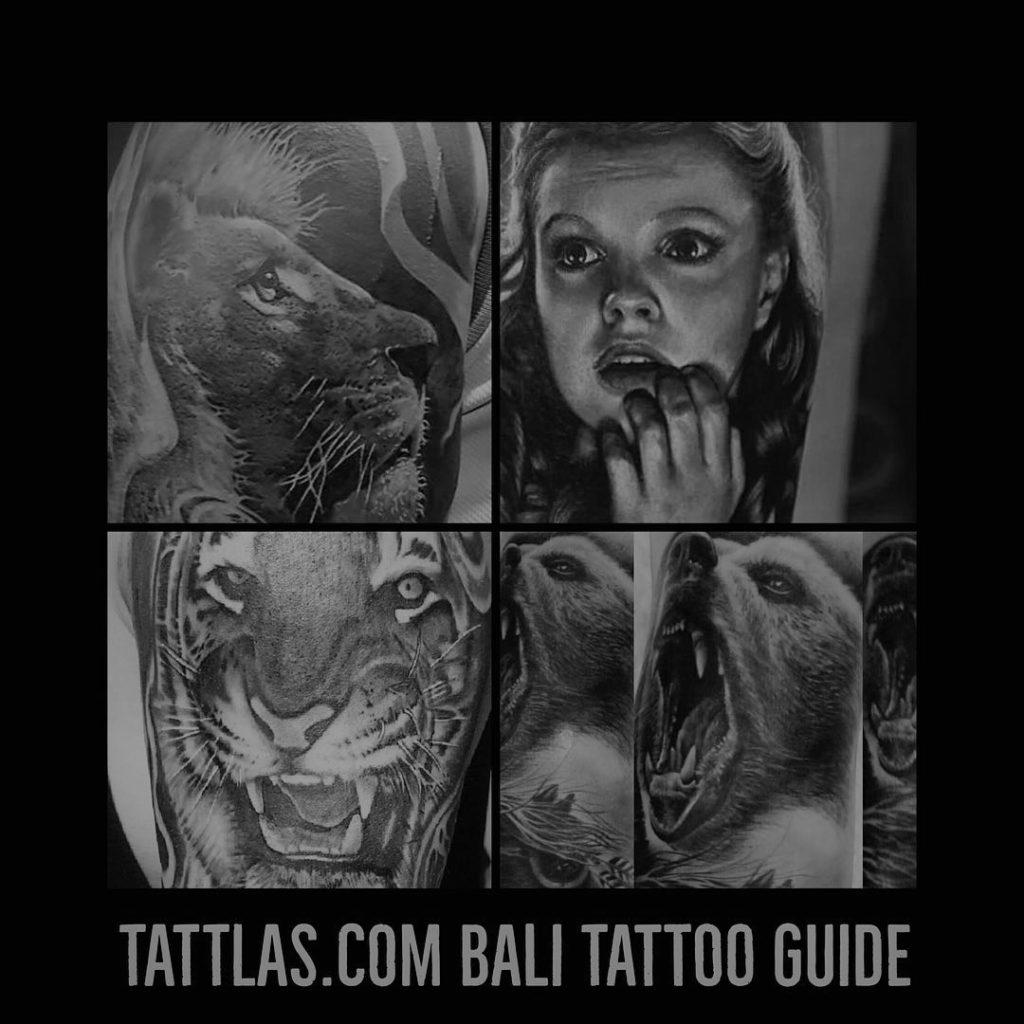 e22db3f8c Lions and Tigers and Bears ⋆ TATTLAS Bali Tattoo Guide ⋆