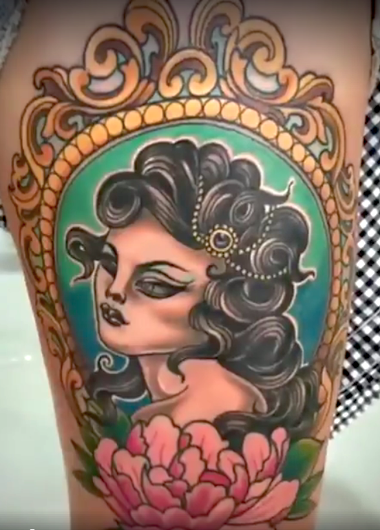 3rd place color Balinesia tattoo