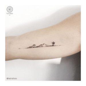 Mount Batur Tattoo