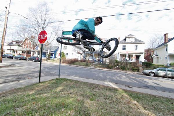 Steven Hamilton BMX