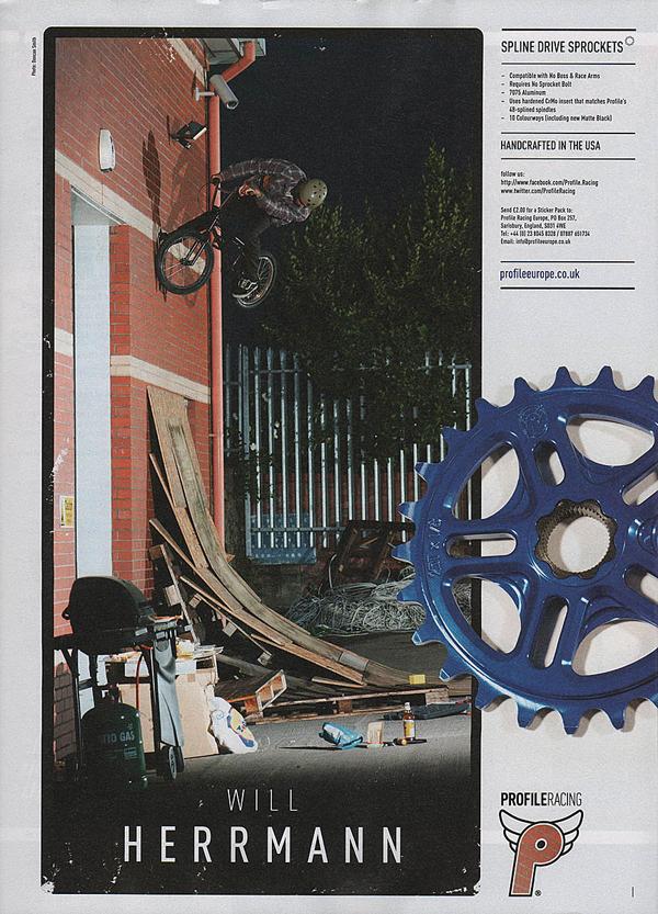 BMX Print Ad Profile Racing
