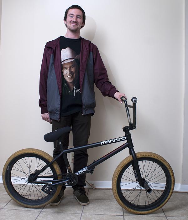 Jordan Stump BMX bike check