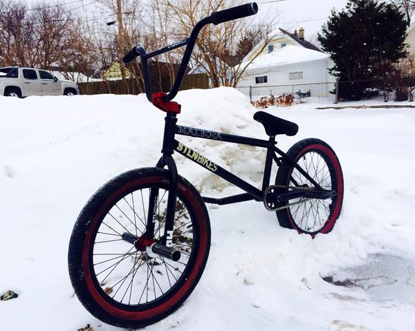 Dan Kruk BMX Bike Check