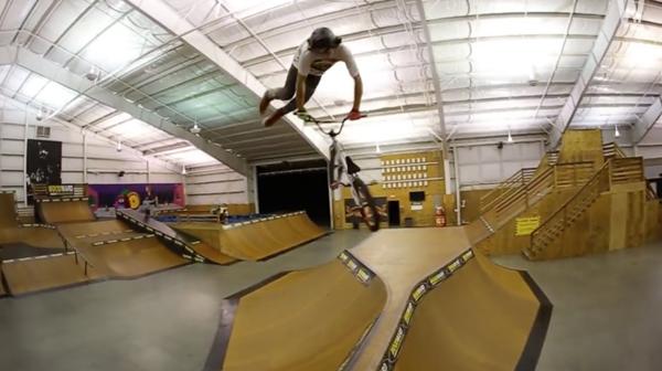 Jake Leiva Woodward West BMX video