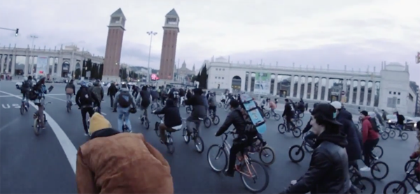 La Ultima Street Jam Barcelona BMX video