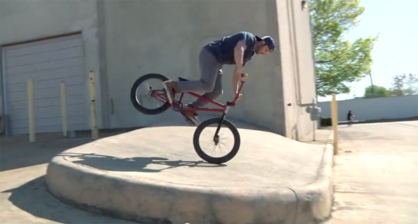 Corey Martinez Seth Kimbrough Dan's Comp Roll Call BMX video