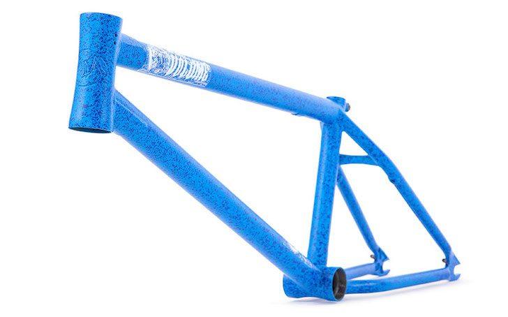 volume-bikes-war-horse-thunder-blue-bmx-frame-angle