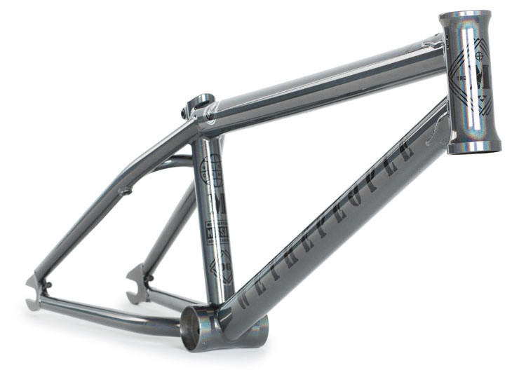 wethepeople-bmx-message-frame-holomatic-spectral-silver-front-angle