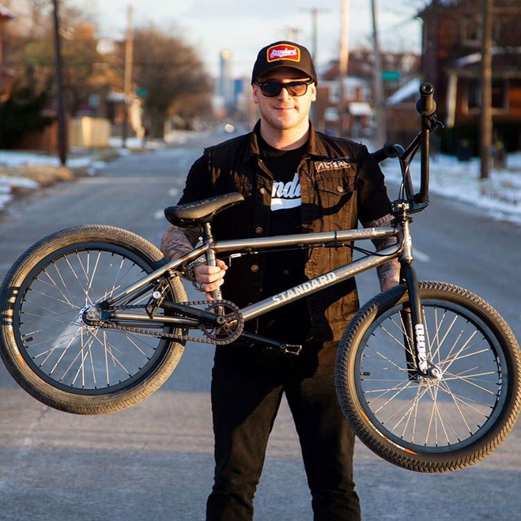 Brandon Dosch On Standard Bykes BMX