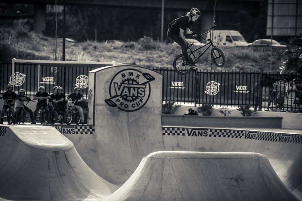 Vans BMX Pro Cup Malaga - Dennis Enarson Canonball Barspin