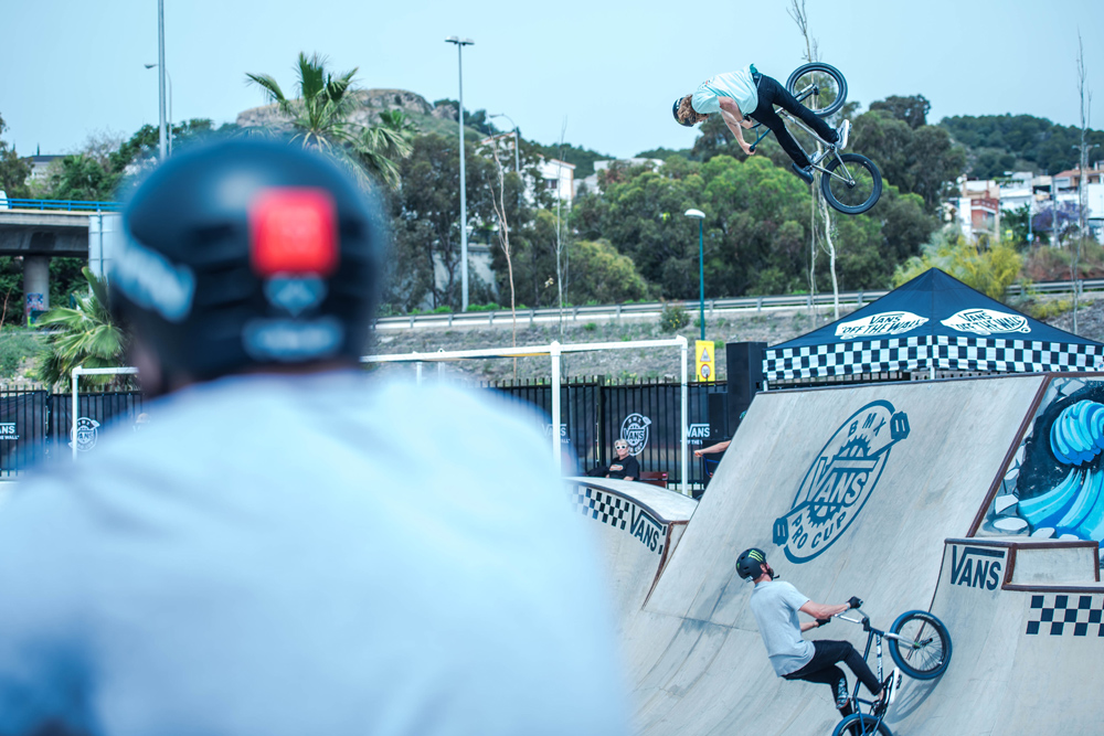 Vans BMX Pro Cup Malaga - Greg Illingworth Turndown