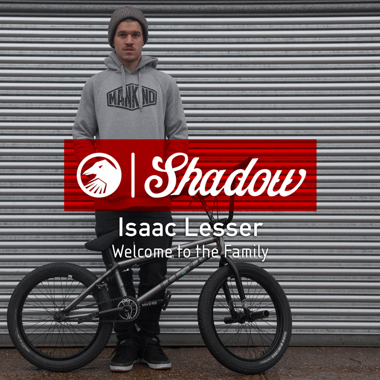 Isaac Lesser Shadow Conspiracy BMX Bike Check