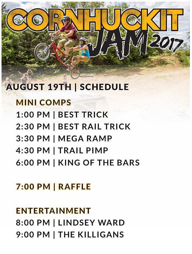 Nowear BMX 2017 Cornhuckit Jam Flyer