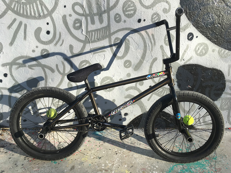 Colony BMX Bruno Faucon Bike Check