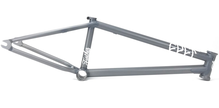 Cult BMX Sean Ricany Shorty Translucent Matte Grey BMX frame