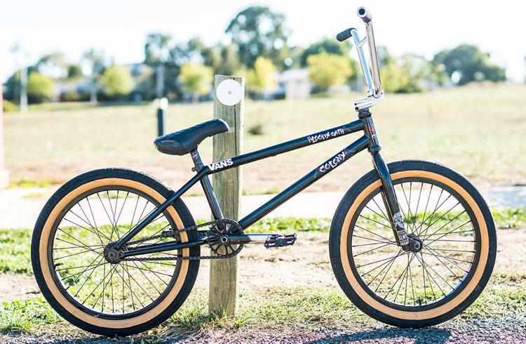 Colony BMX Josh Dove Bike Check