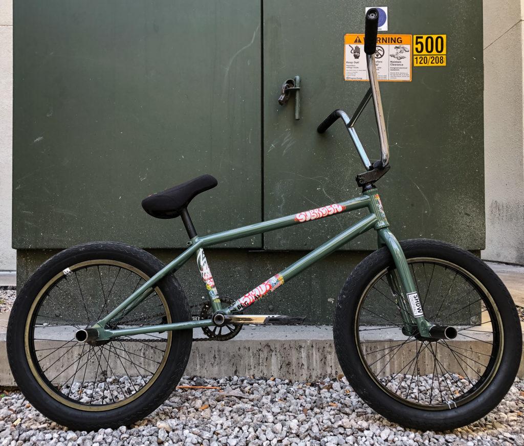 Subrosa Brand Bjarki Hardarson BMX bike Check