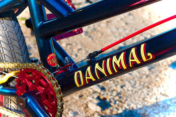 Nowear BMX Dan Nielsen Signature Beast Mode BMX frame