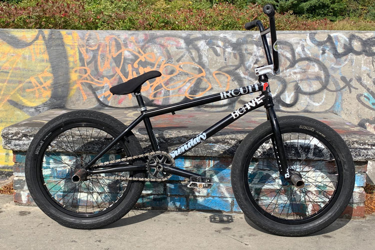 Profile Racing Chris Childs BMX bike check