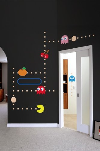 Pac Man Wall Stickers