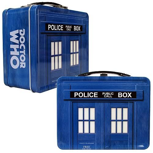TARDIS Lunch Box – Doctor Who
