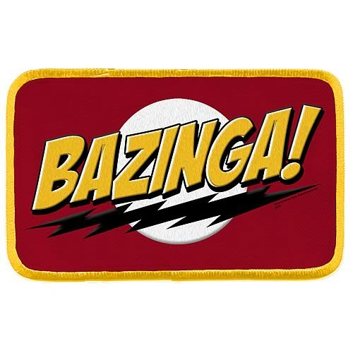 Bazinga Patch – The Big Bang Theory