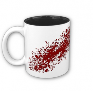 Blood Splatter Coffee Mug – Dexter