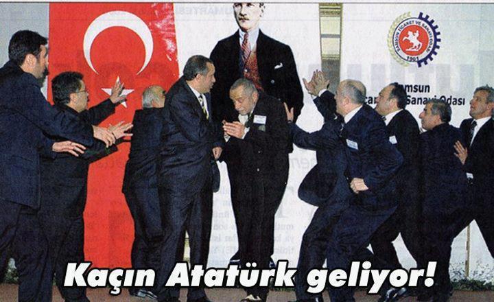 Ataturk Geliyor Kacin