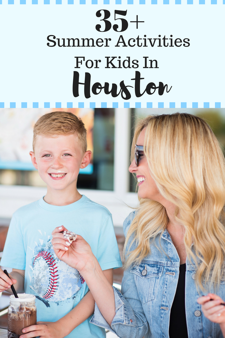 houston with kids - 35 Fun Family Activities In Houston featured by popular Houston blogger Haute & Humid