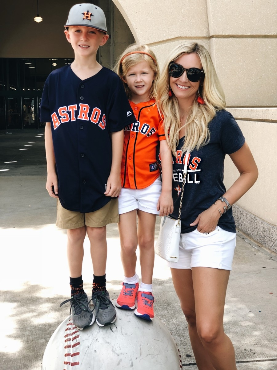 houston astros - 35 Fun Family Activities In Houston featured by popular Houston blogger Haute & Humid