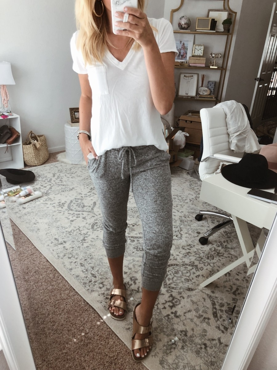 joggers | Instagram | Amazon | Nordstrom | Madewell | Hunters | Gucci | Chanel | Fall Fashion: Instagram Roundup featured by top Houston fashion blog Haute & Humid