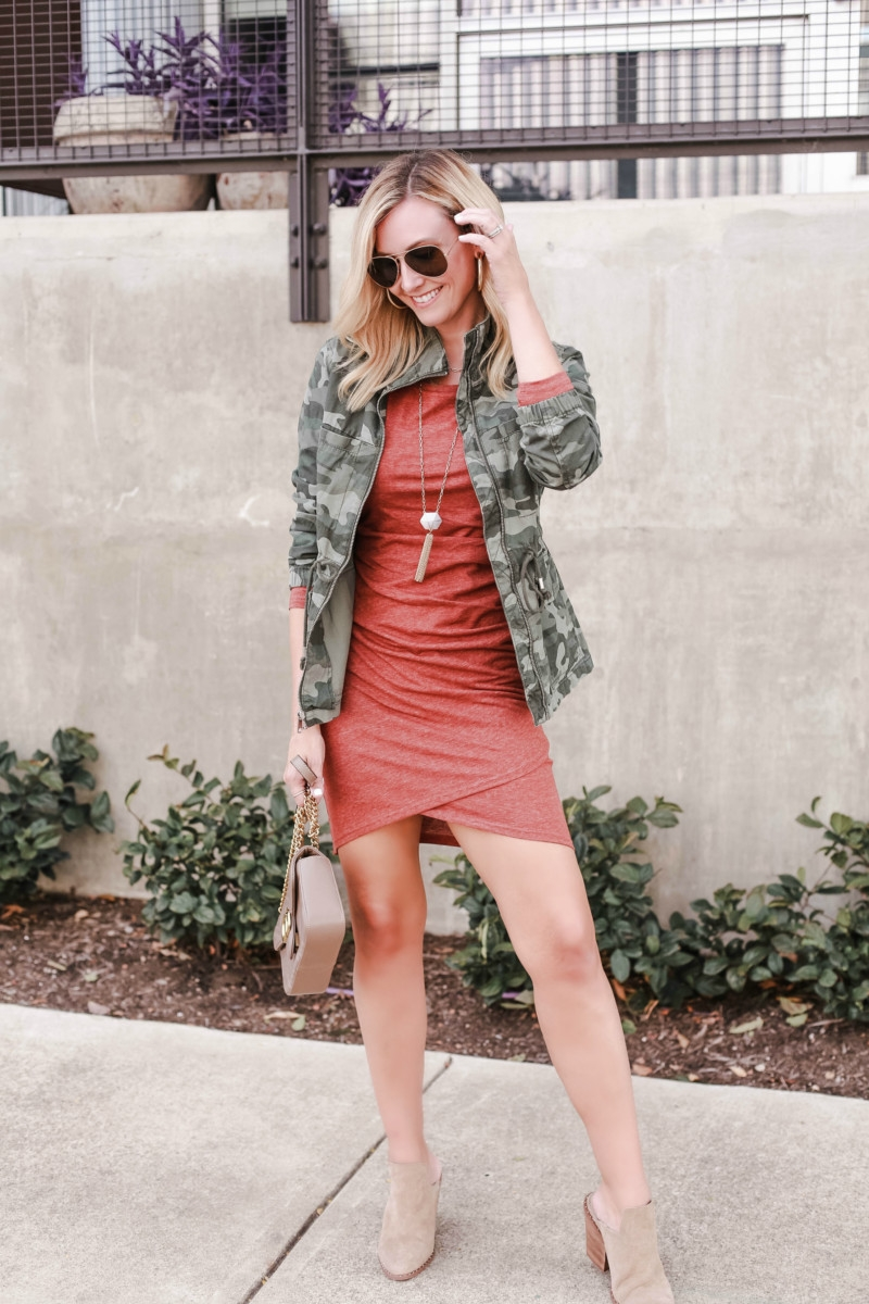 camo jacket | Instagram | Amazon | Nordstrom | Madewell | Hunters | Gucci | Chanel | Fall Fashion: Instagram Roundup featured by top Houston fashion blog Haute & Humid