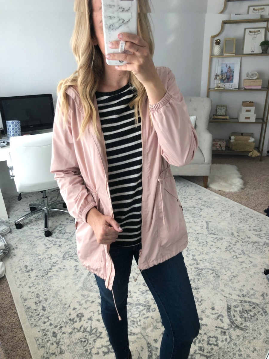rain jacket | Old Navy Fall Favorites Sale Round Up featured by top Houston fashion blog Haute & Humid