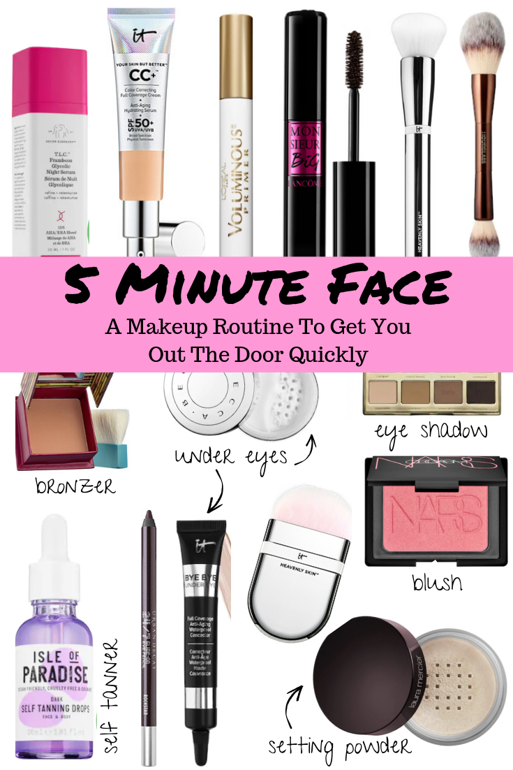 5 minute face