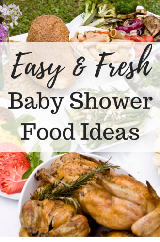Baby Shower Food Ideas: 7 Quick & Easy Recipes Your Guests Will Love