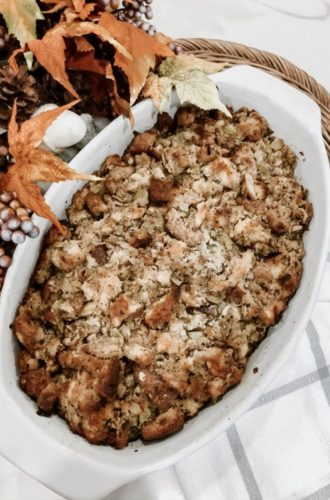 Ultimate Homemade Stuffing Recipe with Bread